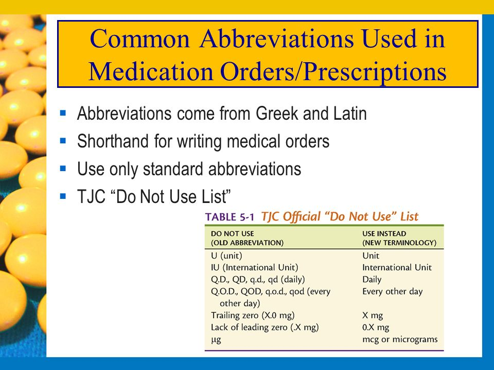 Homeopathic prescription writing abbreviations