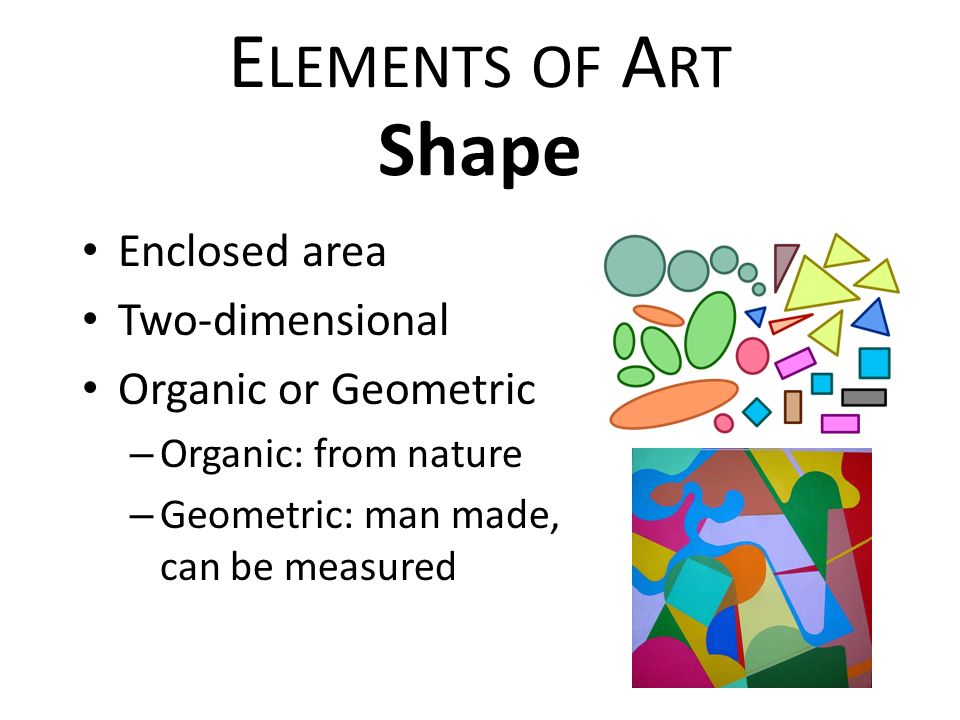 Shape As An Element Of Art : Elements of art principles design ppt video online