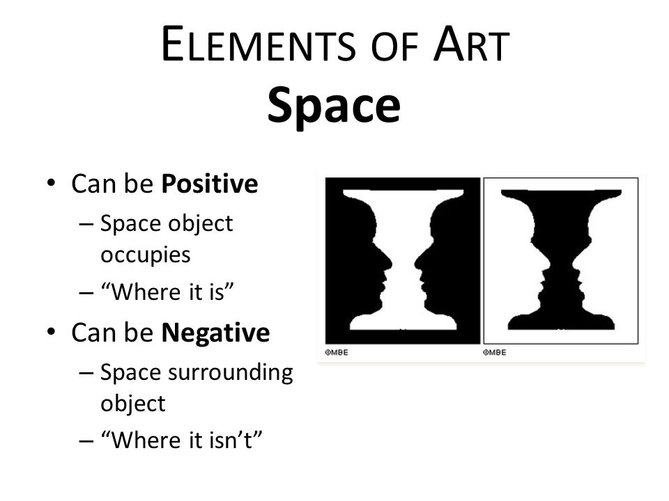 Elements Of Art Space : Elements of art principles design ppt video online