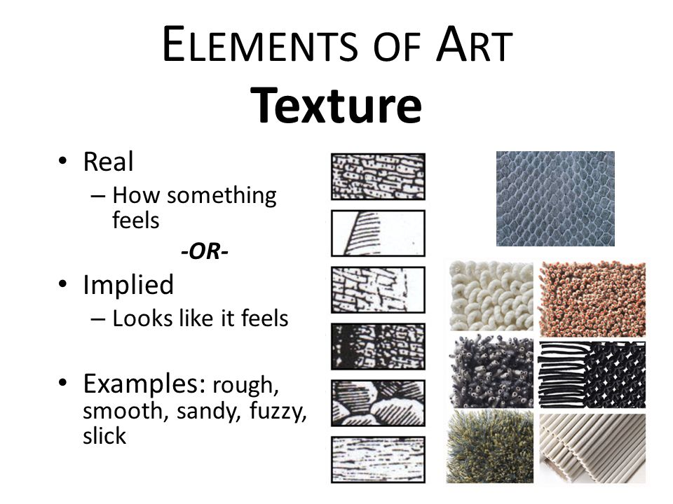 Elements Of Art Texture Examples : Play quot st art quiz flipquiz