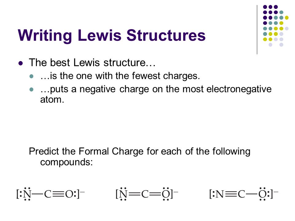 Lewis Diagrams and Structures