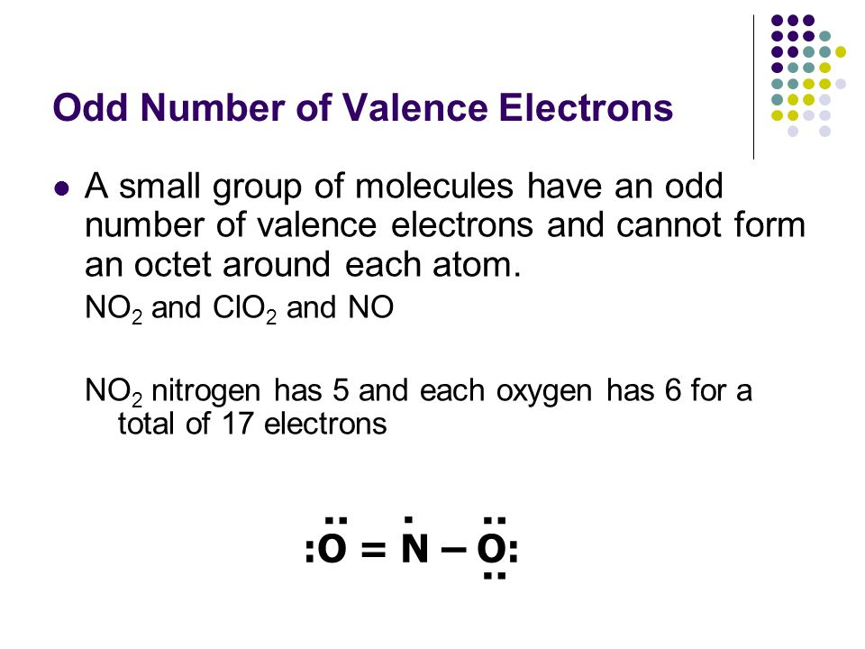 how to know the number of valence electrons