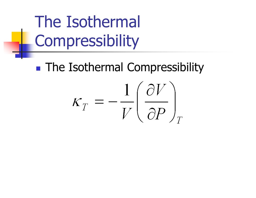 Isothermal Compressibility Of Natural Gas