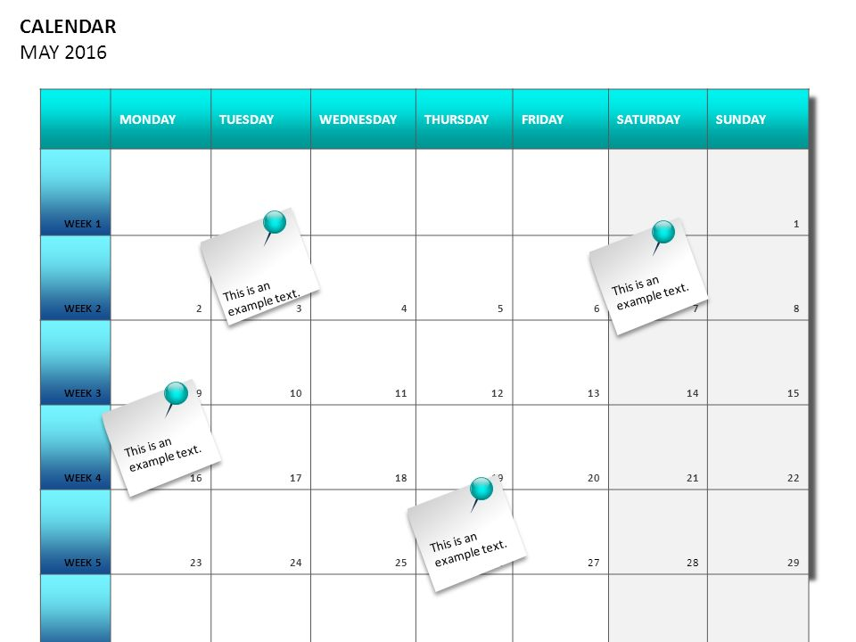 Calendar May Monday : Calendar year plan january february march april may june
