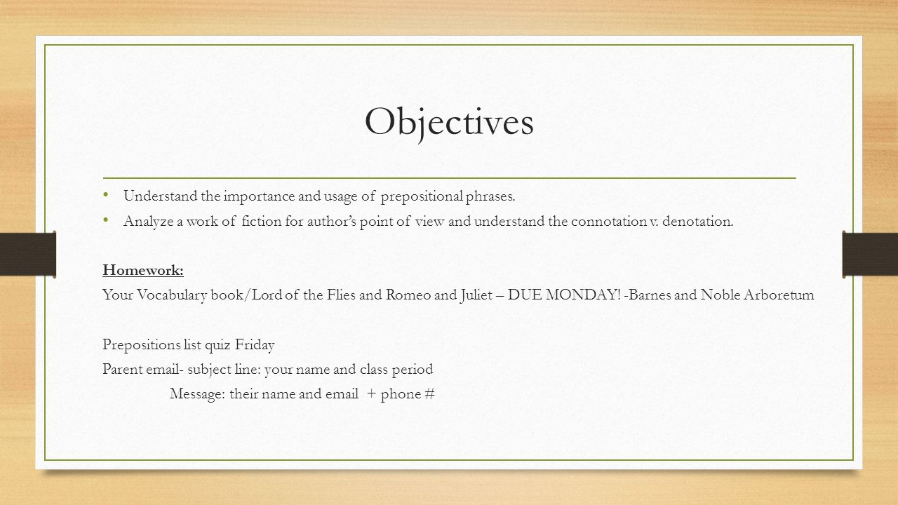 Worksheets Prepositional Phrases Worksheet day 3 honors prepositions and annotations ppt video online objectives understand the importance usage of prepositional phrases