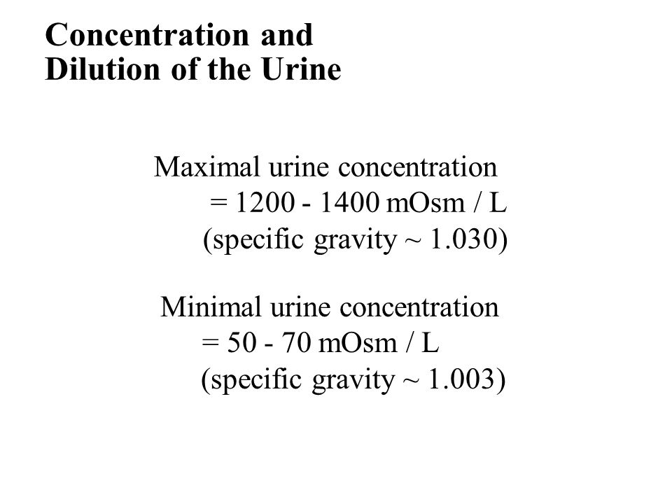 relationship between osmolarity and molarity of concentrated