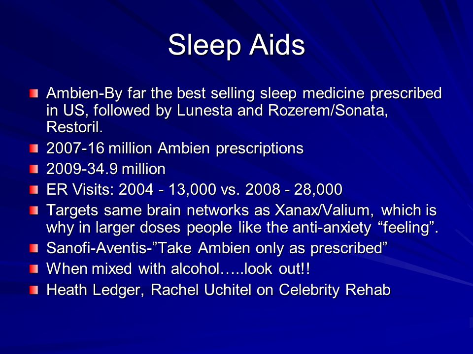 sonata sleep medication