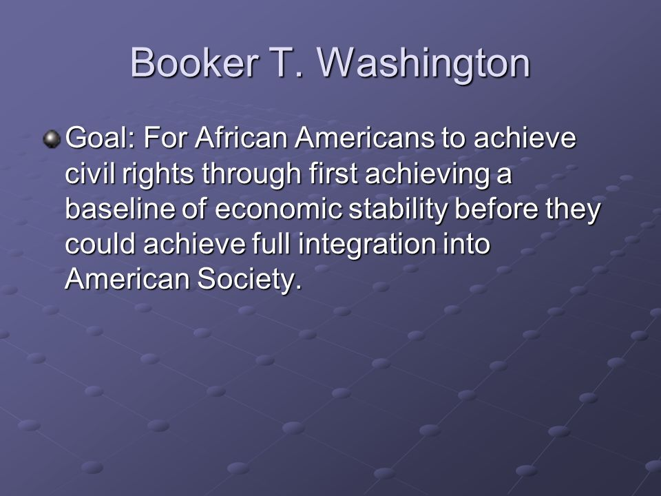 booker t. washington and e.b. dubois essay