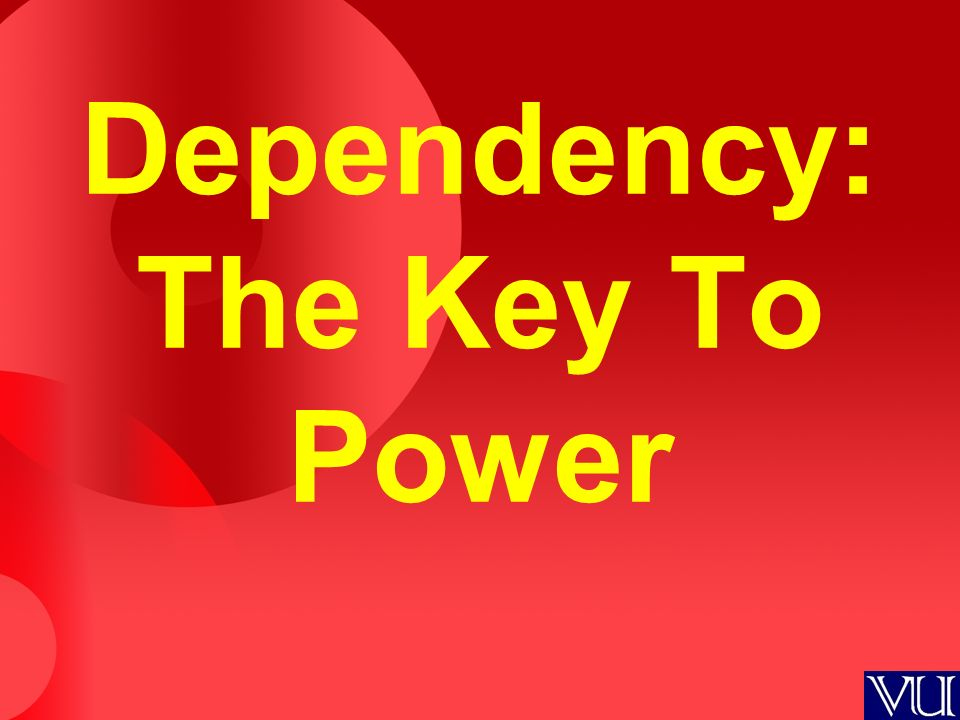 Power dependencies