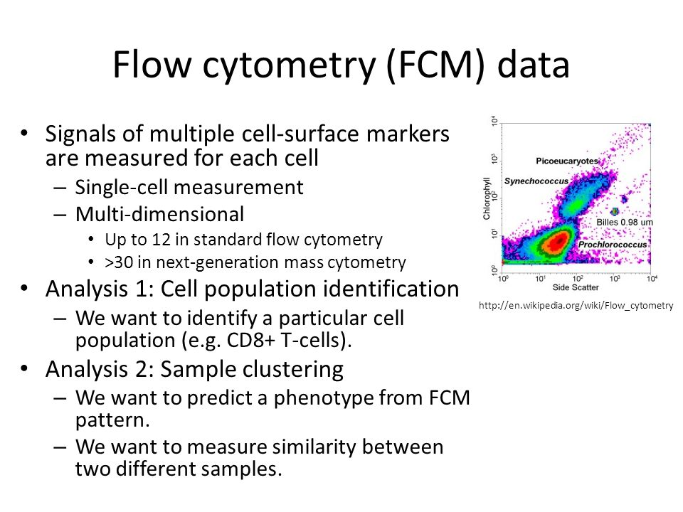 Flow Cytometry Data Analysis: Spade For Cell Population