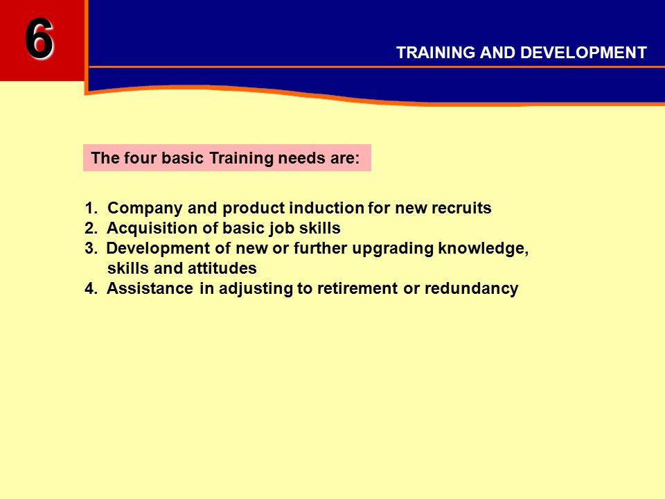 skills acquisition and development and training Training and development specialists help plan, conduct, and administer programs that train employees and improve their skills and knowledge.