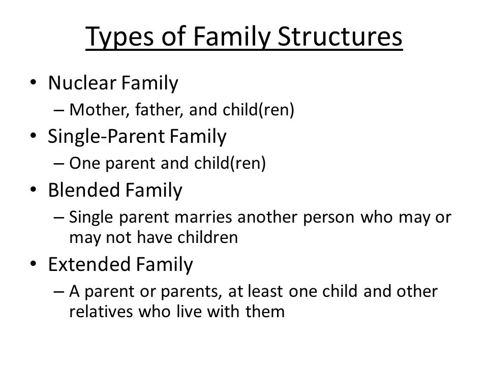 a look at the two main types of family structures The two main rivers this complex structure has resulted now i understand why she would specify that our family came from french speaking belgium since.