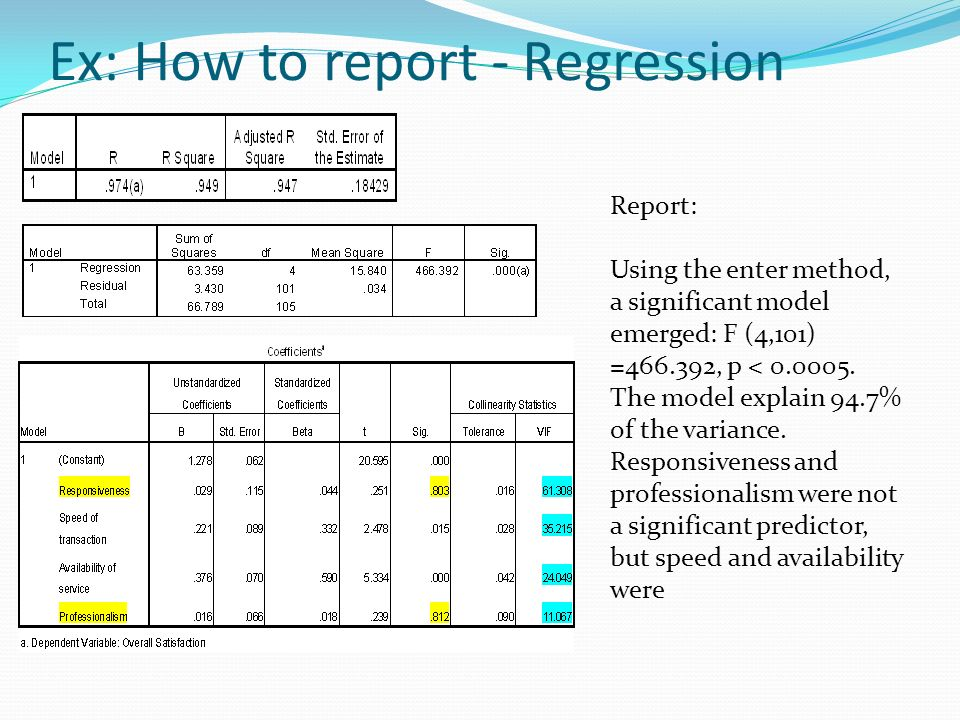 regression project report These are actual student reports  this project is from math 238 taught at the  university of connecticut in fall.