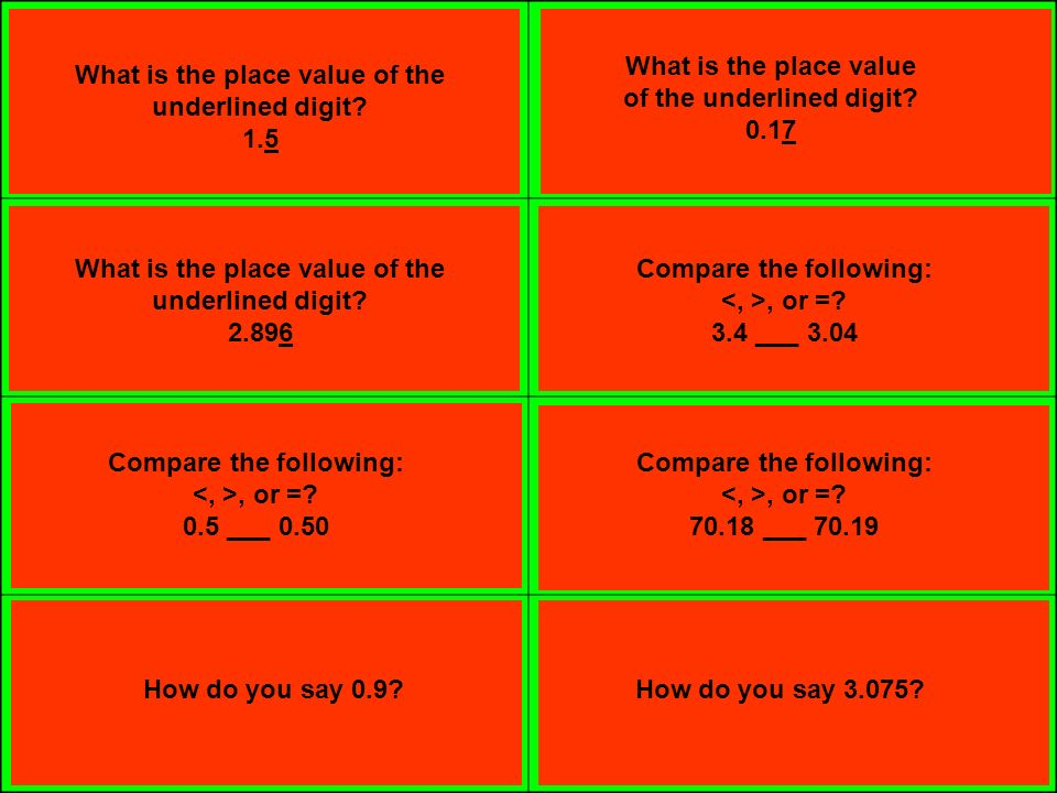 math worksheet : what is the place value of the underlined digit ppt download : Value Of Underlined Digit
