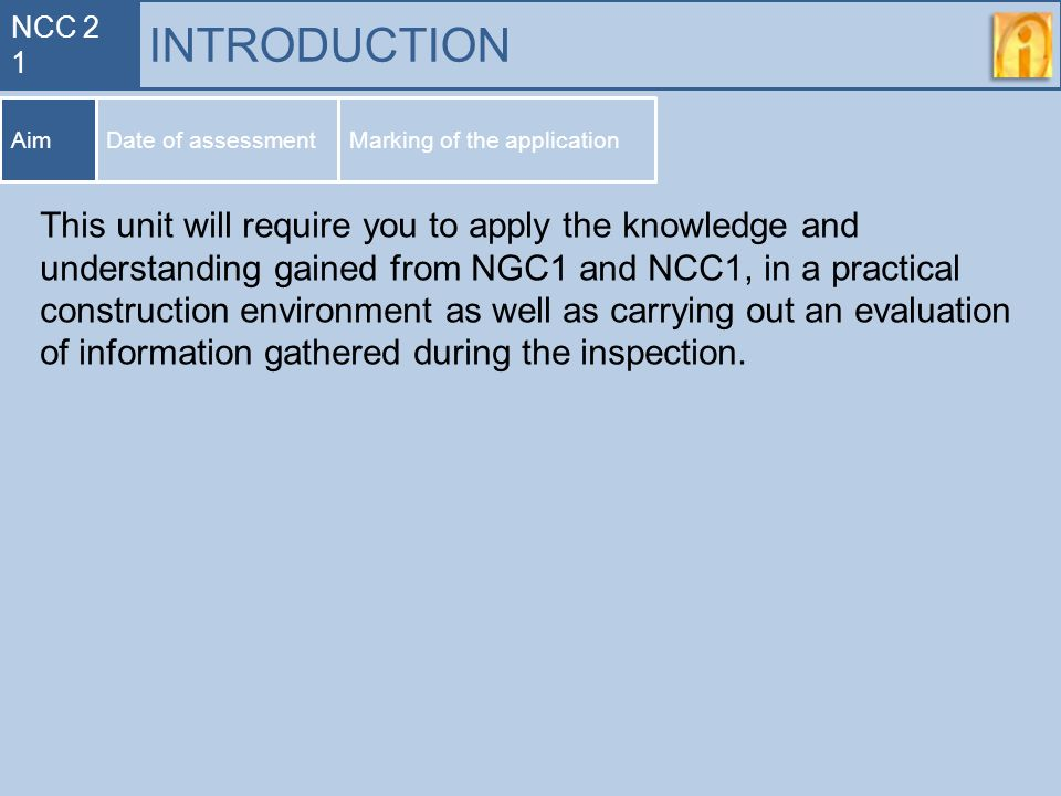 Syllabus for ncc if you want