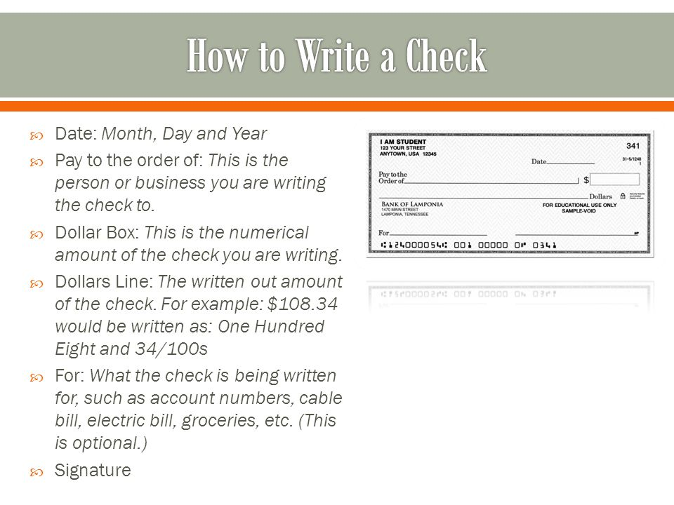 Understand the purpose of cash flow planning ppt video online 6 how to write a check ccuart Choice Image
