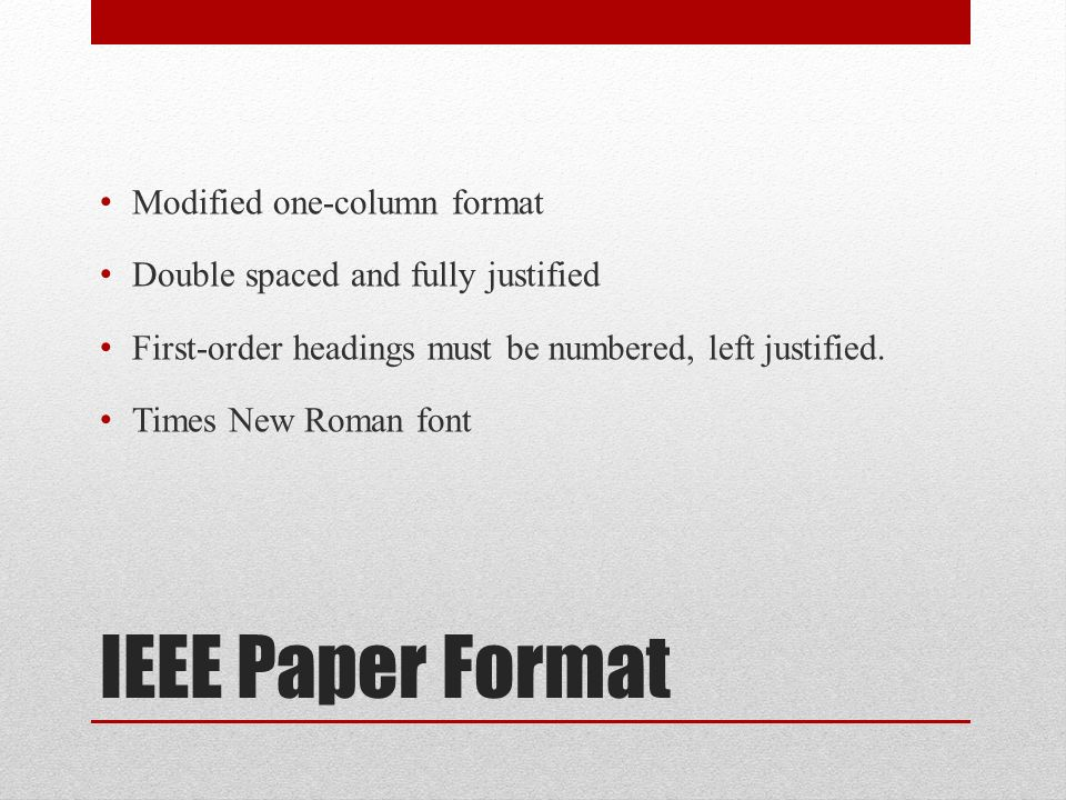 Research papers buy by ieee format