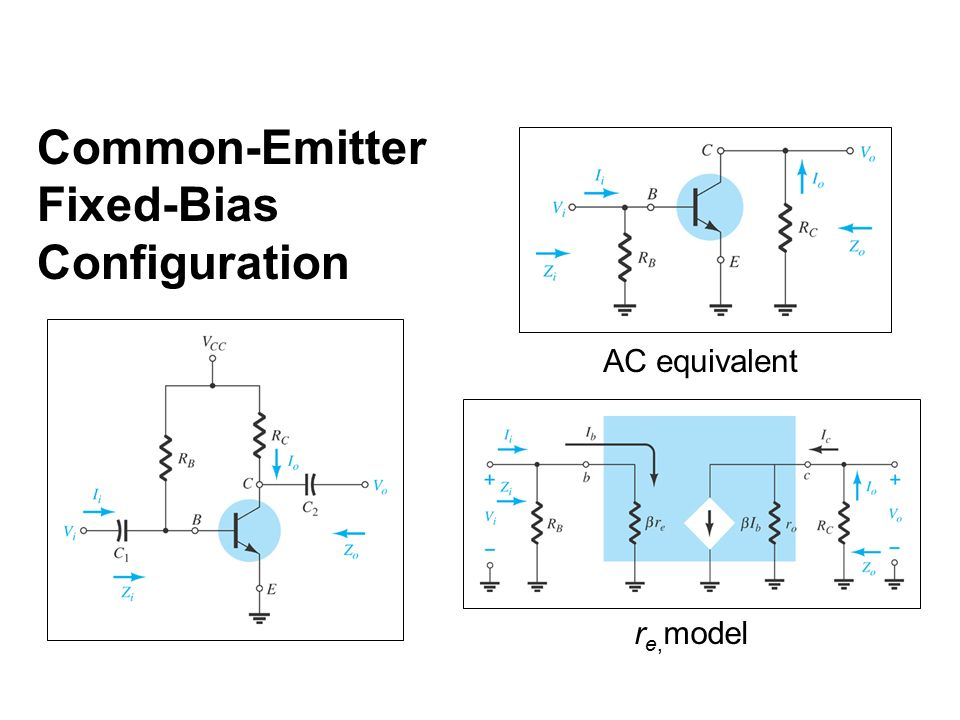 an analysis of dc and ac analysis of common emitter and common collector amplifiers The amplifiers you are speaking of are audio, that is, they only concern  themselves with ac as such, they are ordinarily ac coupled at both.