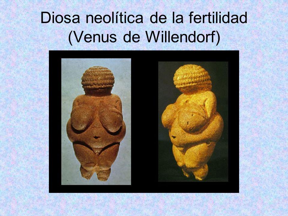 Diosa neolítica de la fertilidad (Venus de Willendorf)