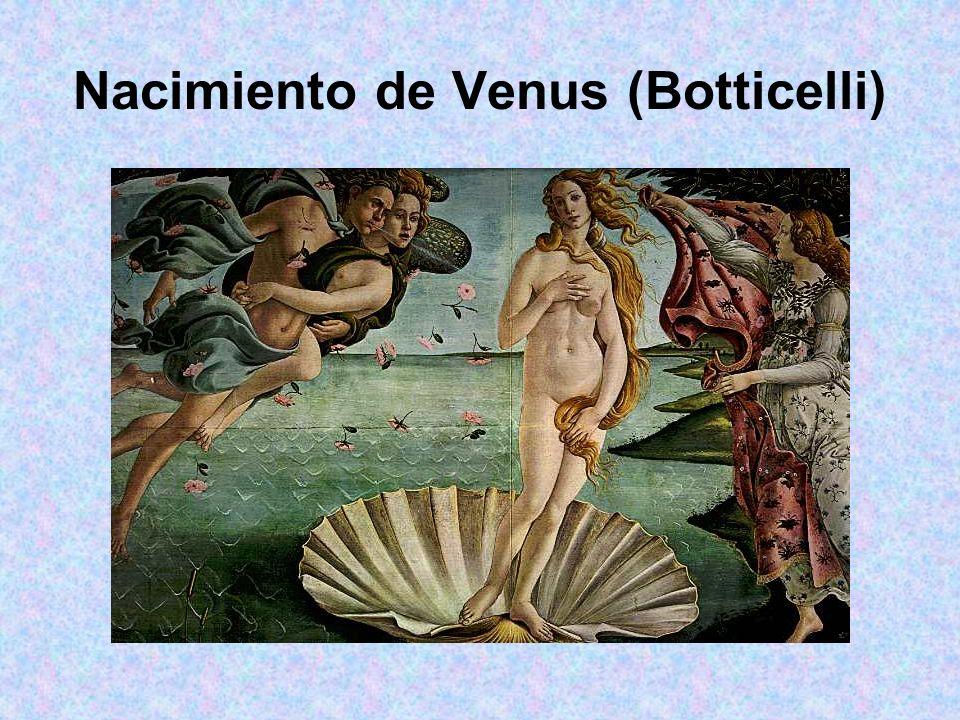 Nacimiento de Venus (Botticelli)