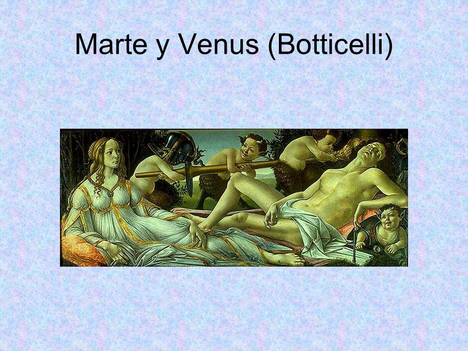 Marte y Venus (Botticelli)