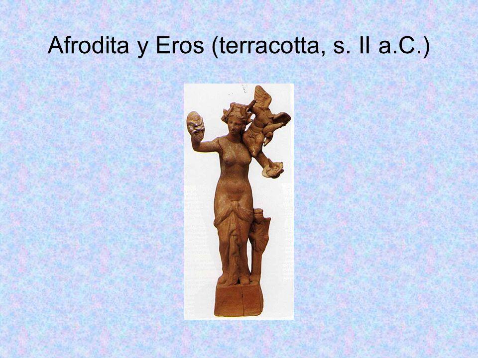 Afrodita y Eros (terracotta, s. II a.C.)