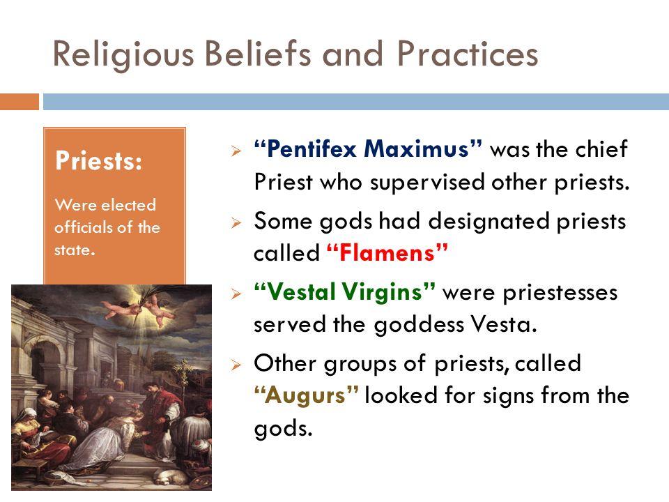 Ancient Roman Religion - ppt download