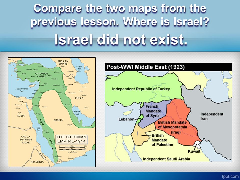 Essential Question What Are The Historical Reasons For The - Where is israel