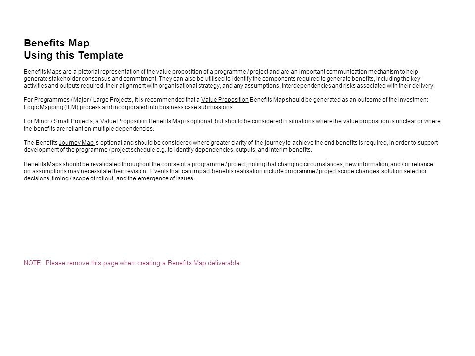 Benefits Map Using This Template Ppt Video Online Download