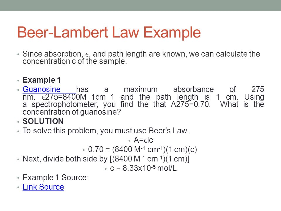 beer and lambet law