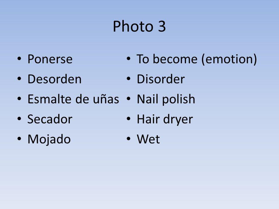 Photo 3 Ponerse Desorden Esmalte de uñas Secador Mojado