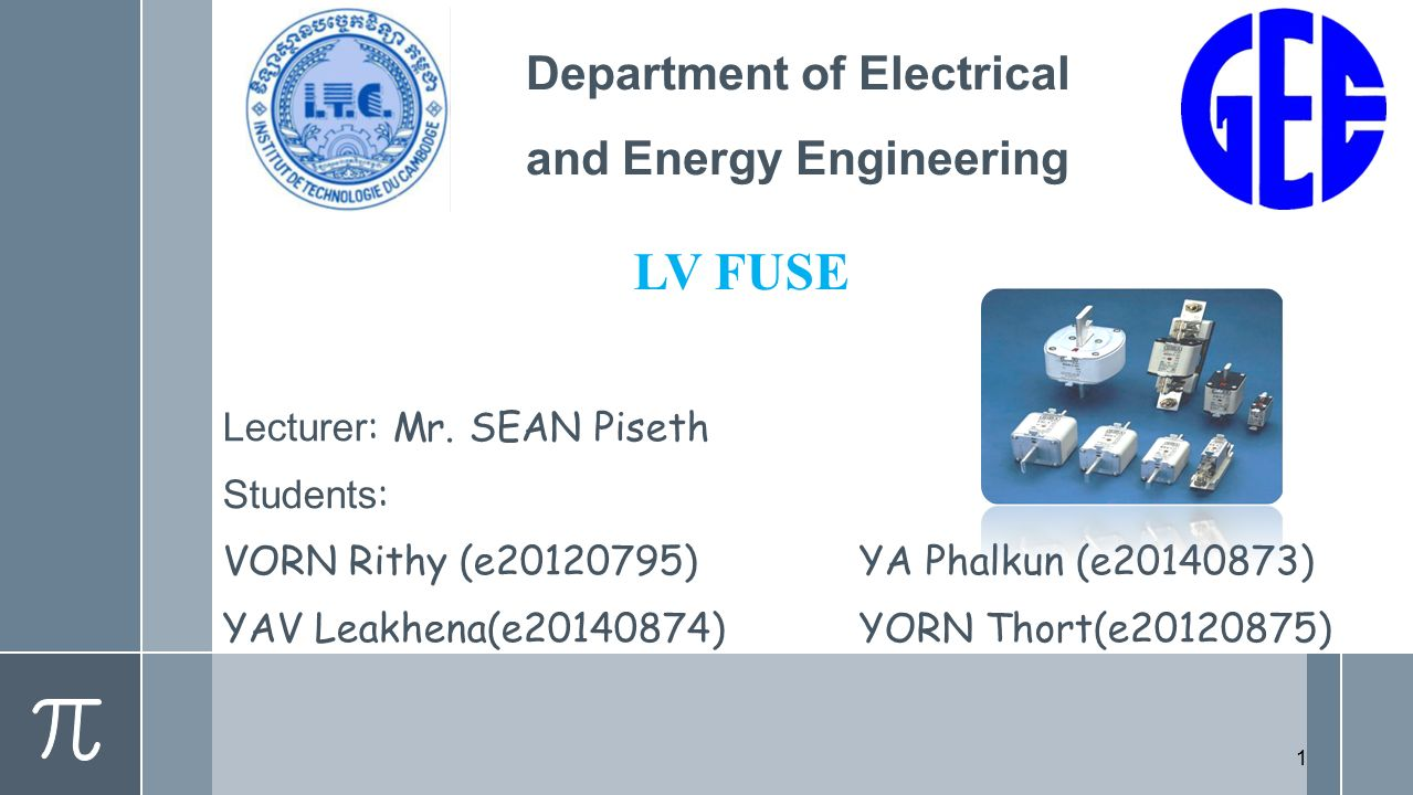 Department of Electrical and Energy Engineering - ppt video online ...