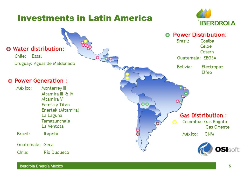 Investments in Latin America