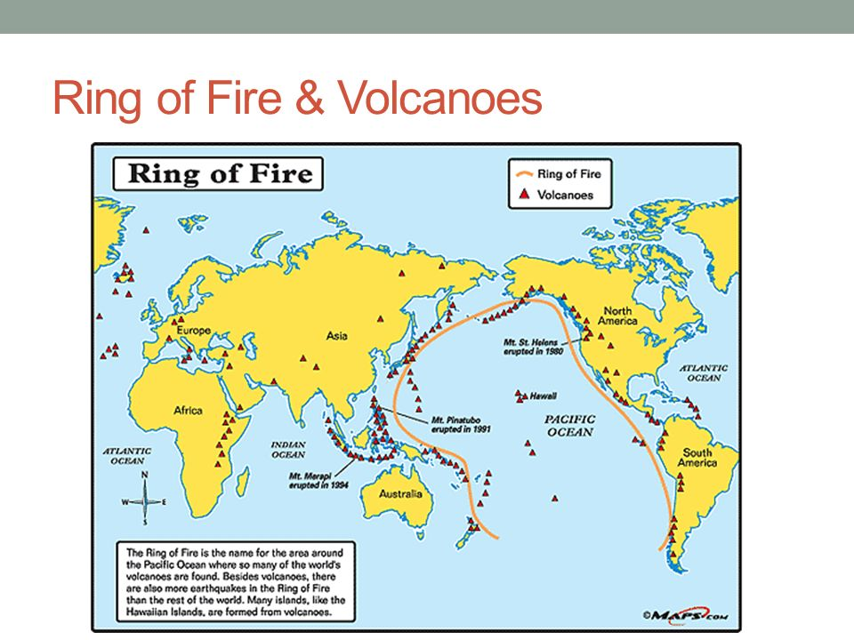 Number Of Volcanoes In Ring Of Fire