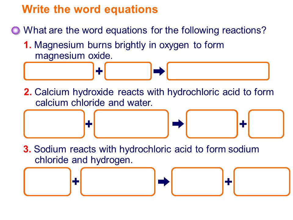 Simple Chemical Reactions - ppt video online download