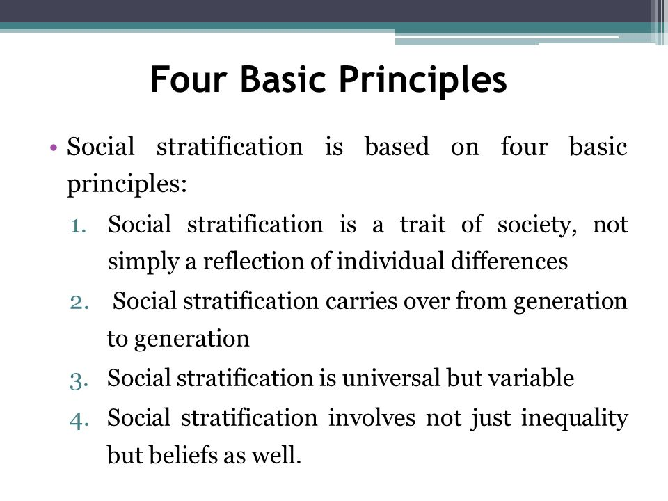social stratification in modern capitalist societies Can we make a society in which people are equal before answering these complex questions, we will broadly define socioeconomic status and social class in america the chapter then turns to dominant theories on stratification, and explores class, race, and gender inequality in more detail we look at how capitalism is.