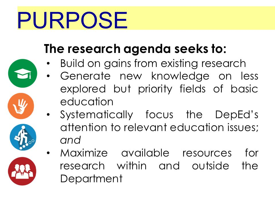 Research Agenda Basic Education Deped Order No. 39, S Ppt Video