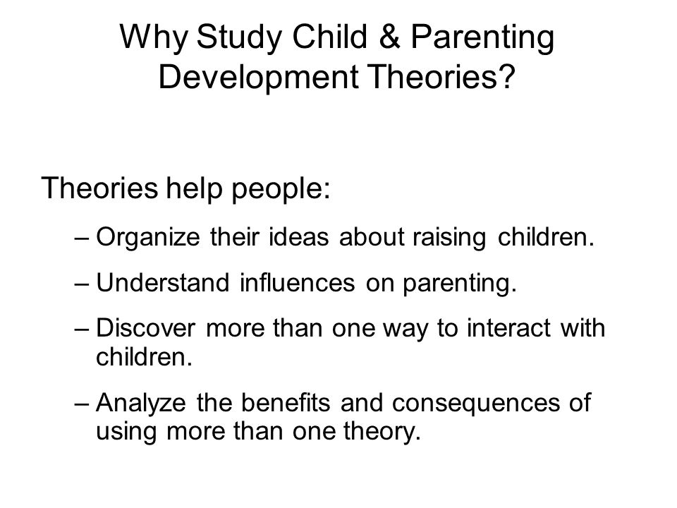 an analysis of the effect of parents on the development of people The life course perspective significantly extends the analysis of the development and that people's of adolescents and adolescents as parents.