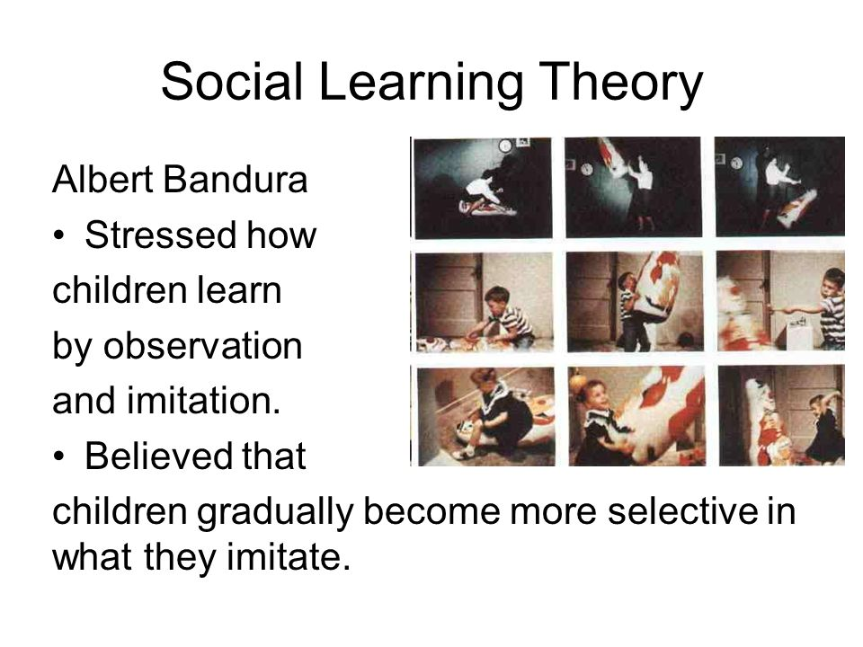 What is Social Learning Theory? - Explorable.com