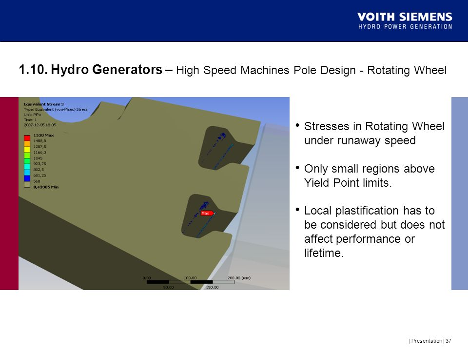 1.10. Hydro Generators – High Speed Machines Pole Design - Rotating Wheel