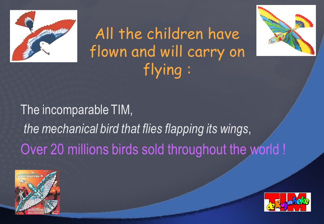 All the children have flown and will carry on flying :
