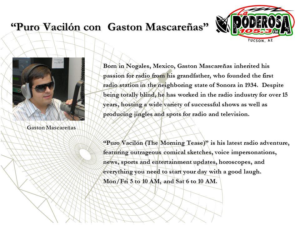Puro Vacilón con Gaston Mascareñas