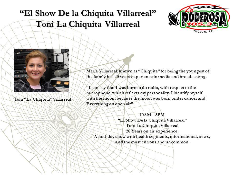 El Show De la Chiquita Villarreal Toni La Chiquita Villarreal
