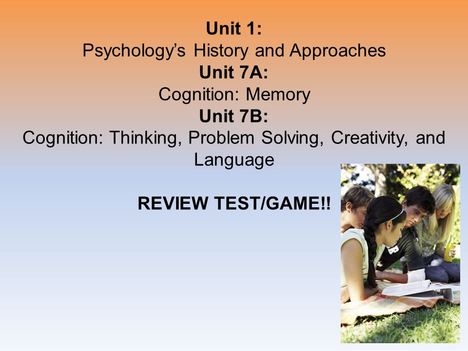 study on cognitive psychology problem solving and creativity Cognitive psychology is a branch of psychology that delves on how the mind  operates decision-making and problem solving are all based on.
