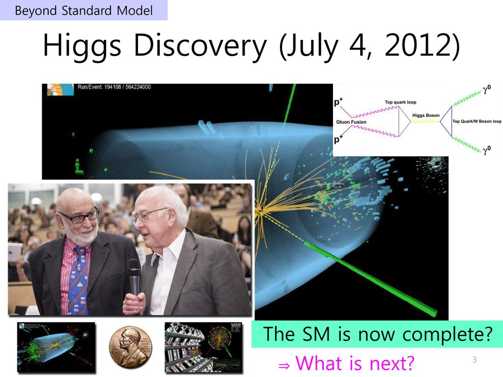 Higgs Discovery (July 4, 2012)