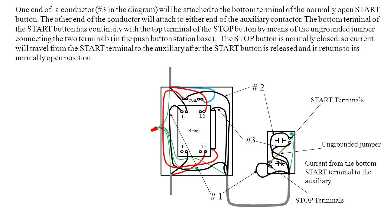 Wiring diagram start stop motor control for Stop start motor control