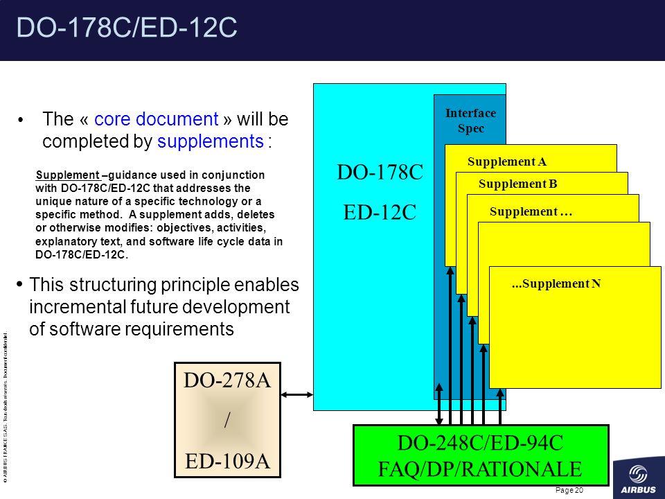 DO-248C/ED-94C FAQ/DP/RATIONALE