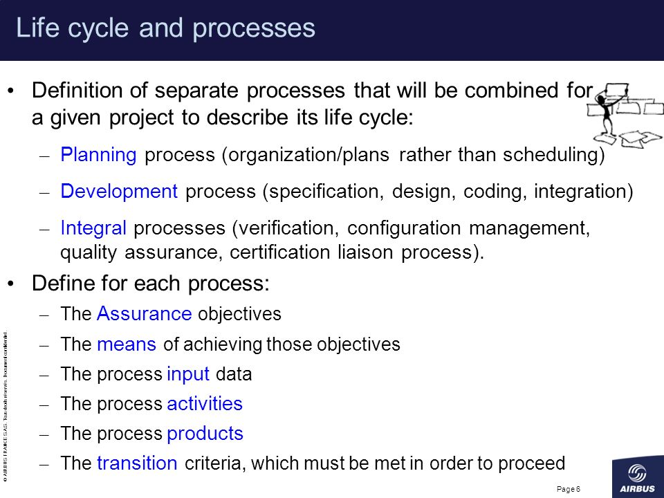 Life cycle and processes