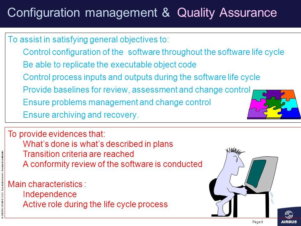 Configuration management & Quality Assurance