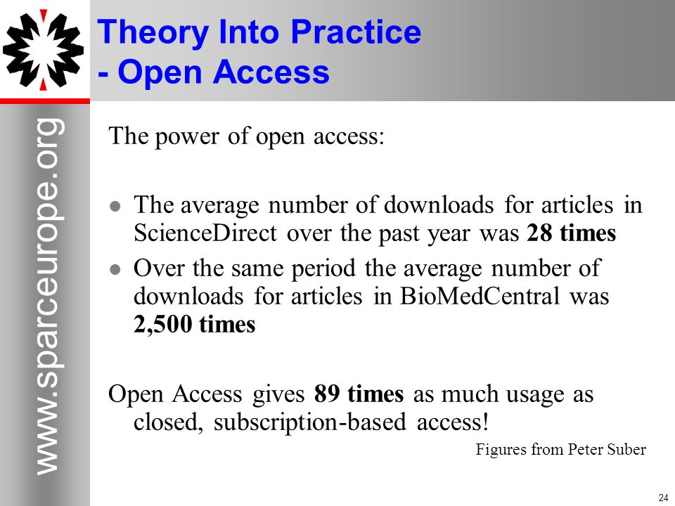 Theory Into Practice - Open Access